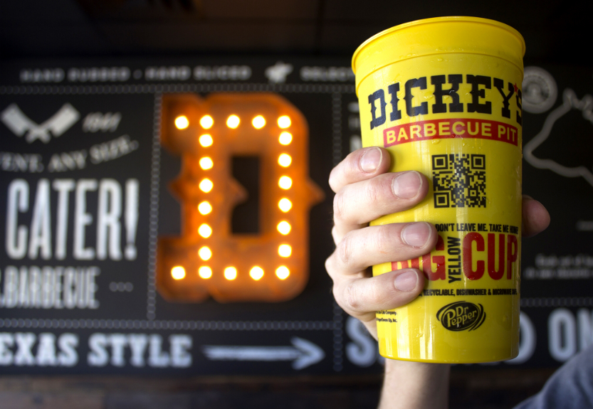 Dickey's Cup Please!