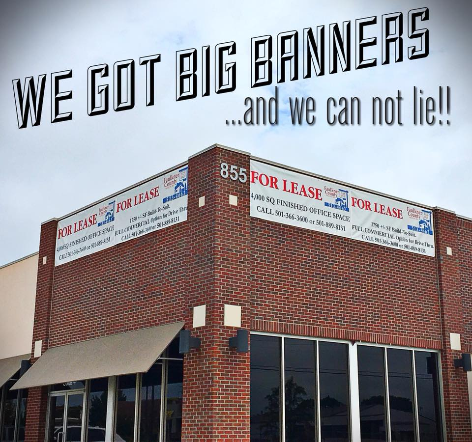 """I sell big banners that you can buy!!"""